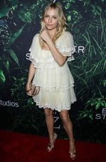 SIENNA MILLER at The Lost City of Z Premiere in Hollywood 04/05/2017