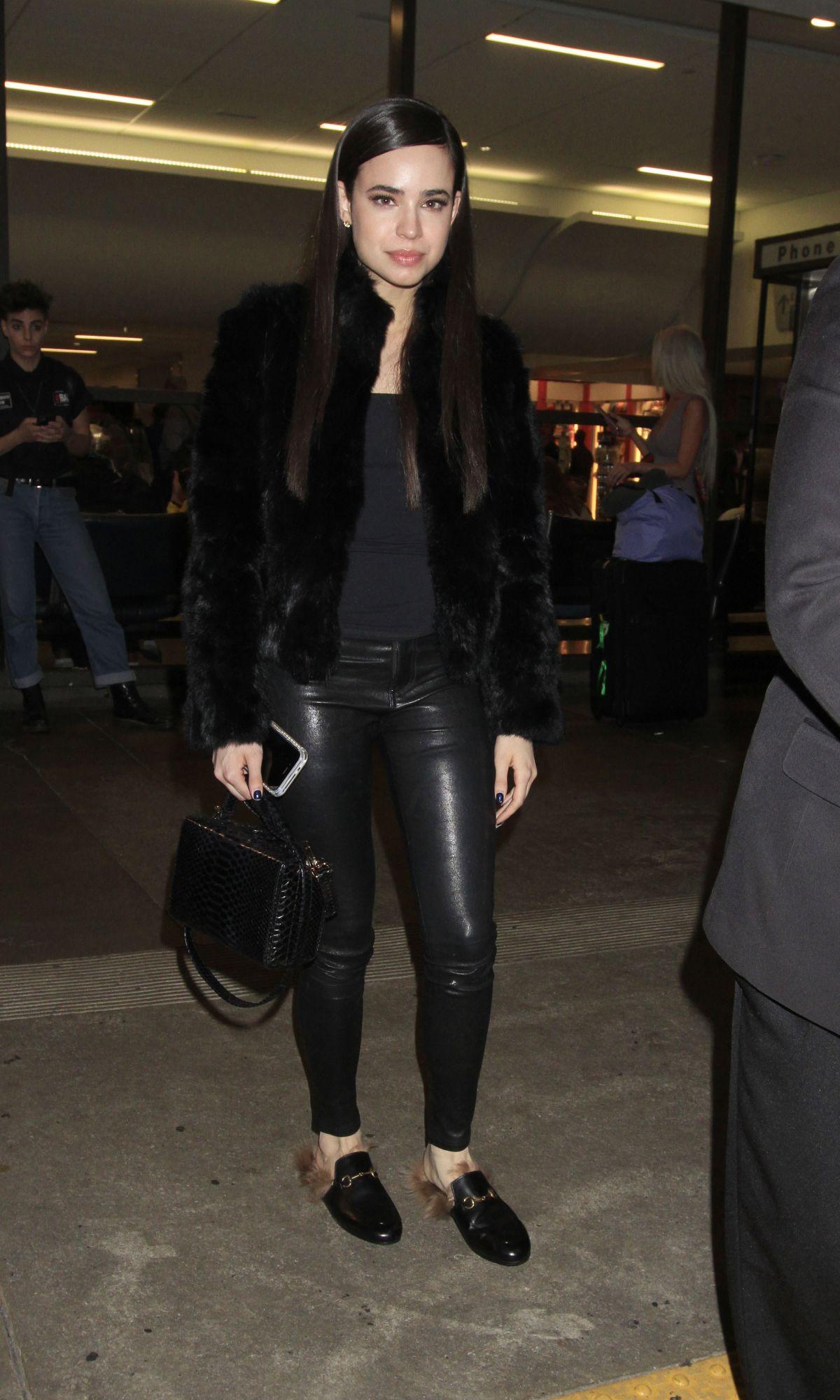SOFIA CARSON at Los Angeles International Airport 04/12/2017