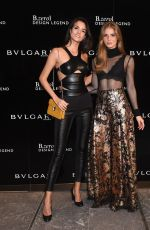 SOFIA RESING at bvlgari b.zero1 Design Legend Collection by Zaha Hadid in New York 04/11/2017