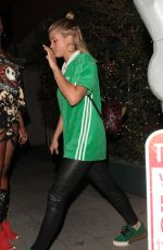 SOFIA RICHIE at Mr.Chow in Beverly Hills 04/21/2017