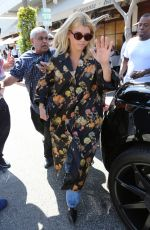 SOFIA RICHIE Leaves Il Pastaio Restaurant in Beverly Hills 04/19/ 2017