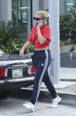 SOFIA RICHIE Out and About in West Hollywood 04/04/2017