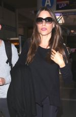 SOFIA VERGARA at Los Angeles International Airport 03/31/2017