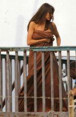 SOFIA VERGARA on the Set of Bent Movie in Rome 04/06/2017