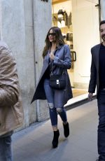 SOFIA VERGARA Out and About in Rome 04/03/2017
