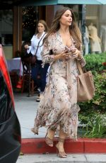 SOFIA VERGARA Out for Lunch in Beverly Hills 04/27/2017