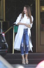 SOFIA VERGARA Shopping at Saks Fifth Avenue in Beverly Hills 04/15/2017