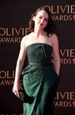 SOPHIE MCSHERA at Olivier Awards in London 04/09/2017