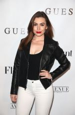 SOPHIE SIMMONS at Flaunt and Guess Celebrate Alternative Facts Issue in Los Angeles 04/11/2017
