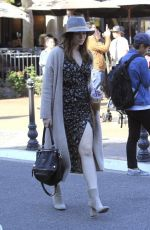 SOPHIE SIMMONS Out at The Grove in Los Angeles 04/09/2017