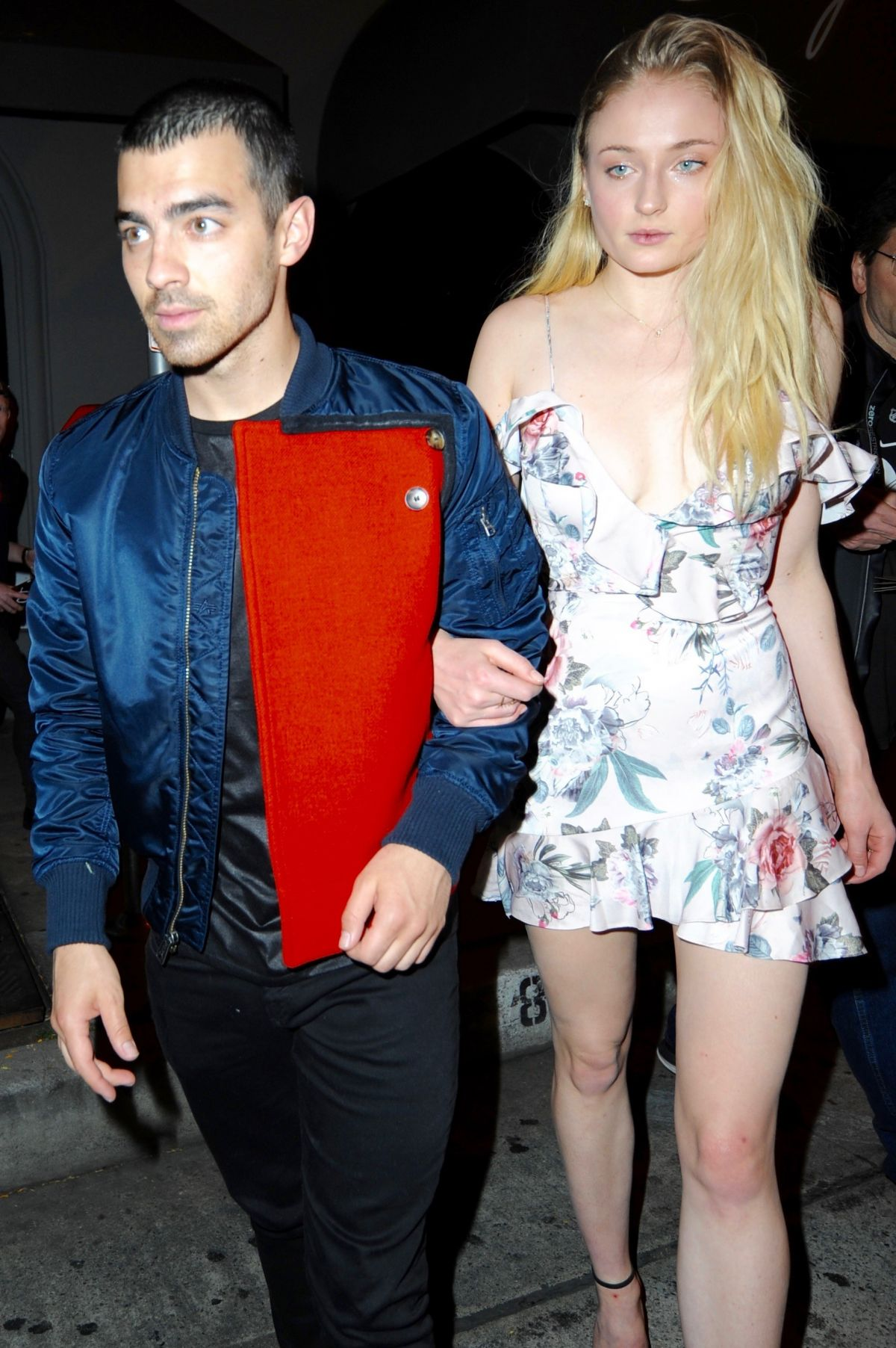 SOPHIE TURNER and Joe Jonas at Craig