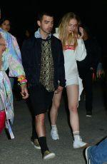 SOPHIE TURNER and Joe Jonas at Neon Carnival at Coachella Festival 04/15/2017