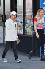 SOPHIE TURNER and Joe Jonas Out and About in Los Angeles 04/13/2017