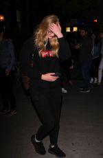 SOPHIE TURNER Leaves Her Hotel in New York 04/28/2017