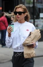 STELLA MAXWELL Out and About in New York 04/20/2017