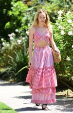 SUKI WATERHOUSE Out and About in West Hollywood 04/19/2017