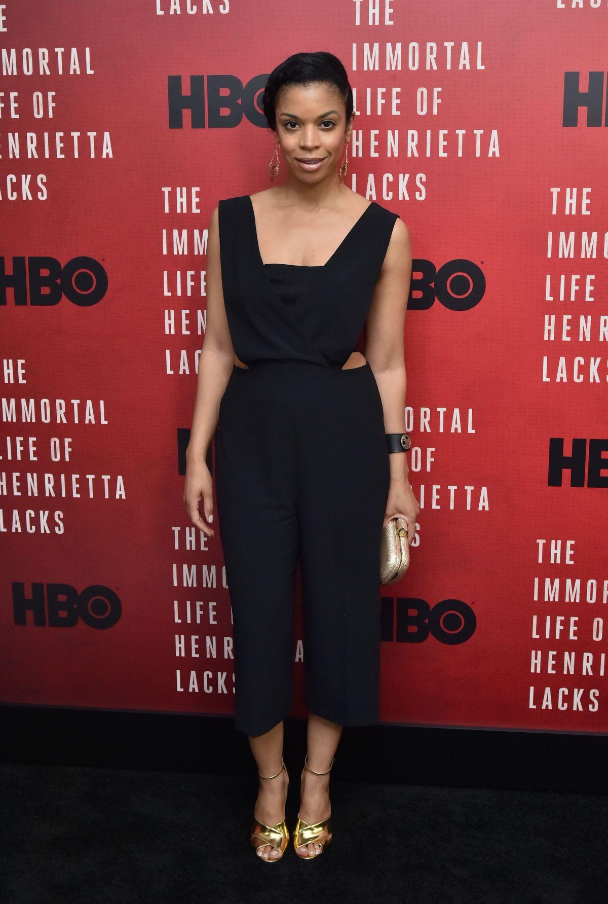 SUSAN KELECHI WATSON at The Immortal Life of Henrietta Lacks Screening in New York 04/18/2017