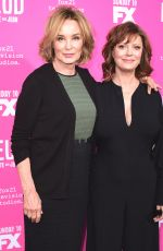 SUSAN SARADON and JESSICA LANGE at Feud: Bette and Joan FYC Event at Wilshire Ebell Theatre in Los Angeles 04/21/2017