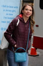 SUTTON FOSTER on the Set of Younger in New York 04/04/2017