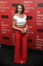 SYLVIA GRACE at The Immortal Life of Henrietta Lacks Screening in New York 04/18/2017