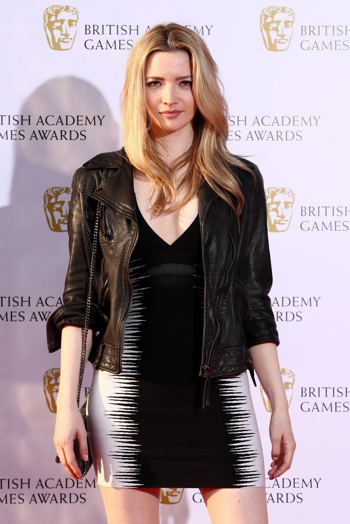 TALULAH RILEY at British Academy Games Awards in London 04/06/2017