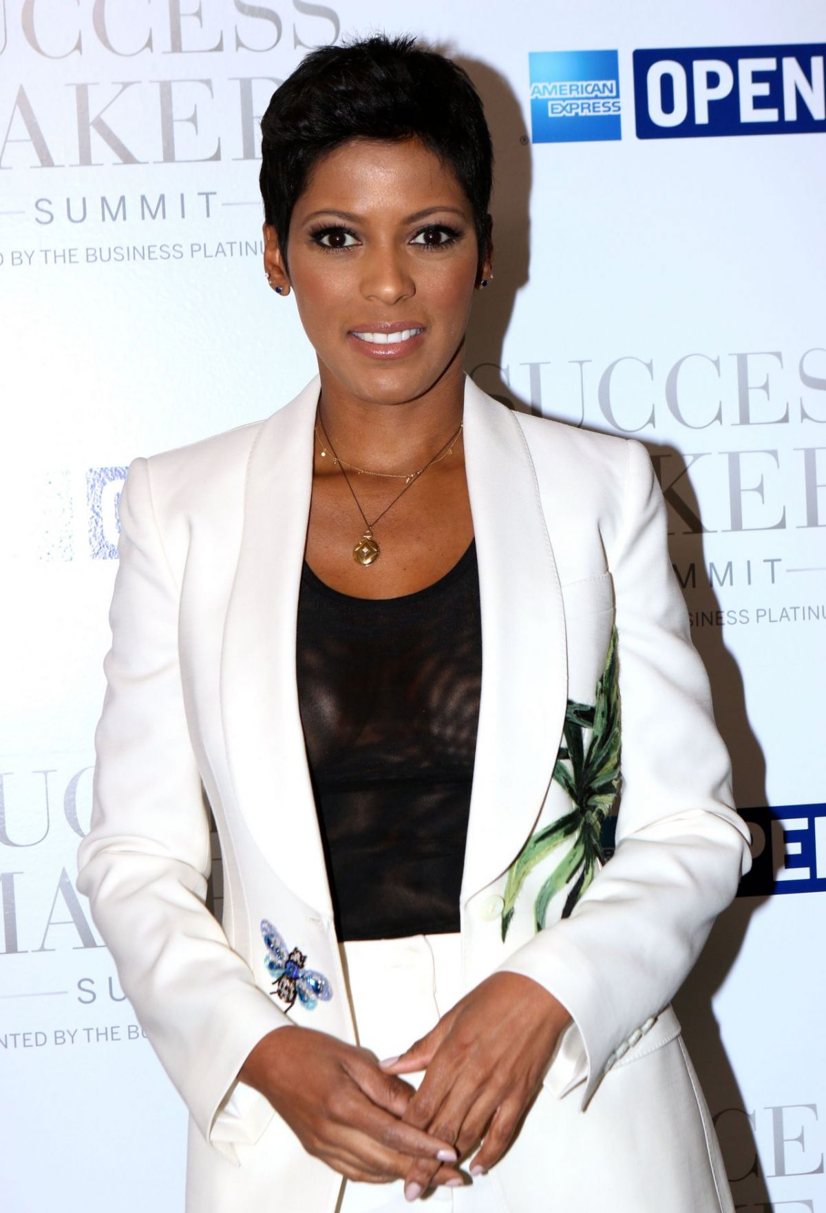 TAMRON HALL at American Express Success Makers Summit in New York 04/17/2017