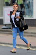 TANYA BARDSLEY Out in Wilmslow 04/26/2017
