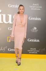 TANYA MITYUSHINA at National Geographic's Genius Premiere in Los Angeles 04/24/2017