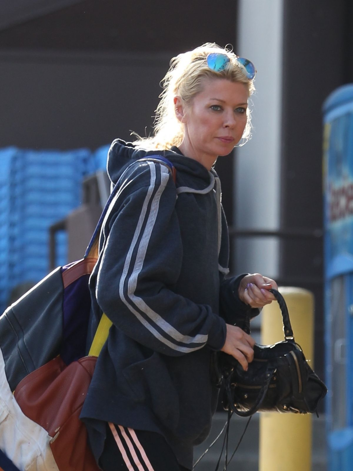 TARA REID Arrives at a Gym in West Hollywood 04/04/2017