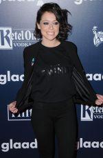TATIANA MASLANY at 2017 Glaad Media Awards in Los Angeles 04/01/2017