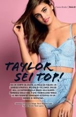 TAYLOR HILL in Cosmopolitan Magazine, Italy May 2017