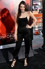 TAYLOR OLYMPIOS at Unforgettable Premiere in Los Angeles 04/18/2017