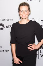 TAYLOR SCHILLING at Take Me Premiere at 2017 Tribreca Film Festival 04/25/2017
