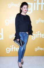TIFFANI THIESSEN at Gifted Premiere in Los Angeles 04/04/2017