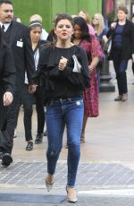 TIFFANI THIESSEN Out at The Grove in Los Angeles 04/04/2017