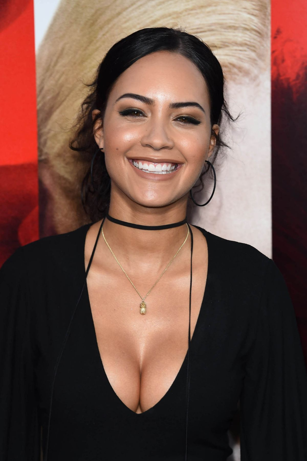 TRISTIN MAYS at Unforgettable Premiere in Los Angeles 04/18/2017