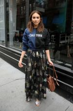 TROIAN BELLISARIO Arrives at AOL Studio in New York 04/20/2017