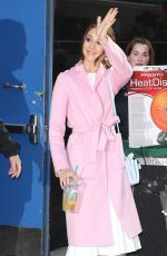TROIAN BELLISARIO Arrives at Good Morning America in New York 04/18/2017