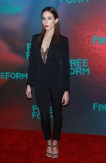 TROIAN BELLISARIO at 2017 Freeform Upfront in New York 04/19/2017