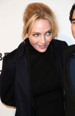 UMA THURMAN at House of Z Screening in New York 04/22/2017