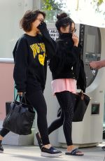 VANESSA and STELLA HUDGENS Heading to a Gym in Los Angeles 04/12/2017