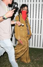 VANESSA HUDGENS Arrives at DJ Snake Performance at Coachella Festival 04/15/2017