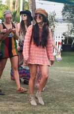 VANESSA HUDGENS at Coachella Valley Music and Arts Festival in Indio 04/16/2017