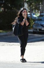 VANESSA HUDGENS Leaves Alfred Coffee in Los Angeles 04/28/2017