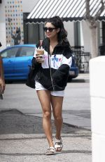 VANESSA HUDGENS Out for Coffe in Los Angeles 04/26/2017
