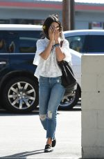VANESSA HUDGENS Out for Coffee in Los Angeles 04/27/2017