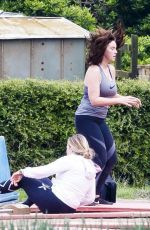 VICKY PATTISON Workout Out at Bootcamp in Norfolk 04/18/2017