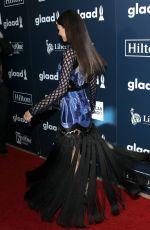 VICTORIA JUSTICE at 2017 Glaad Media Awards in Los Angeles 04/01/2017