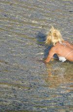 VICTORIA SILVSTEDT in Bikini in St Barts 04/14/2017
