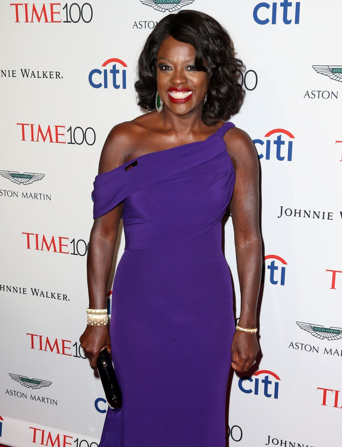 VIOLA DAVIS at 2017 Time 100 Gala in New York 04/25/2017